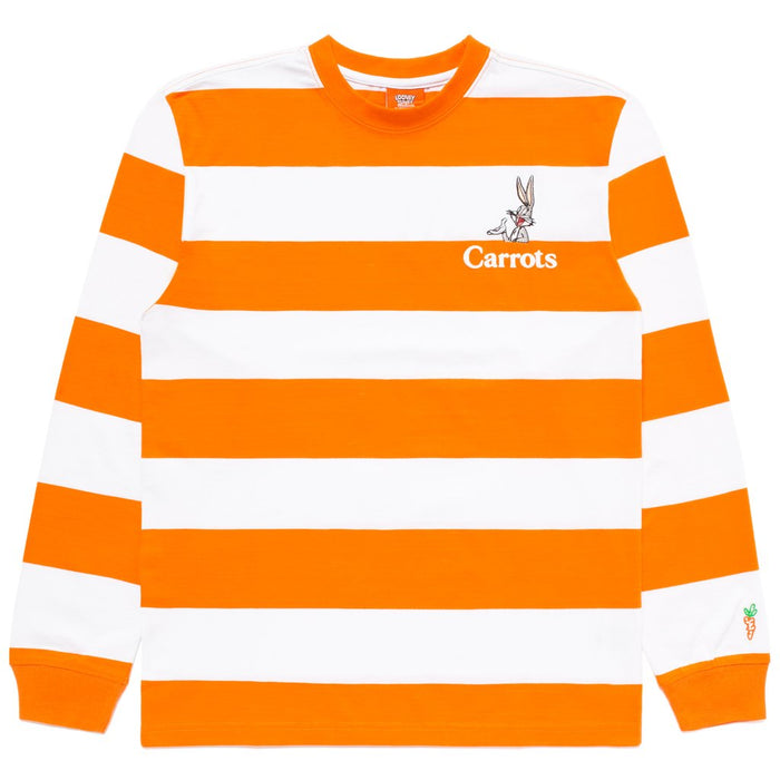 CARROTS X LOONEY TUNES BUGS BORDER LS TEE - ORANGE
