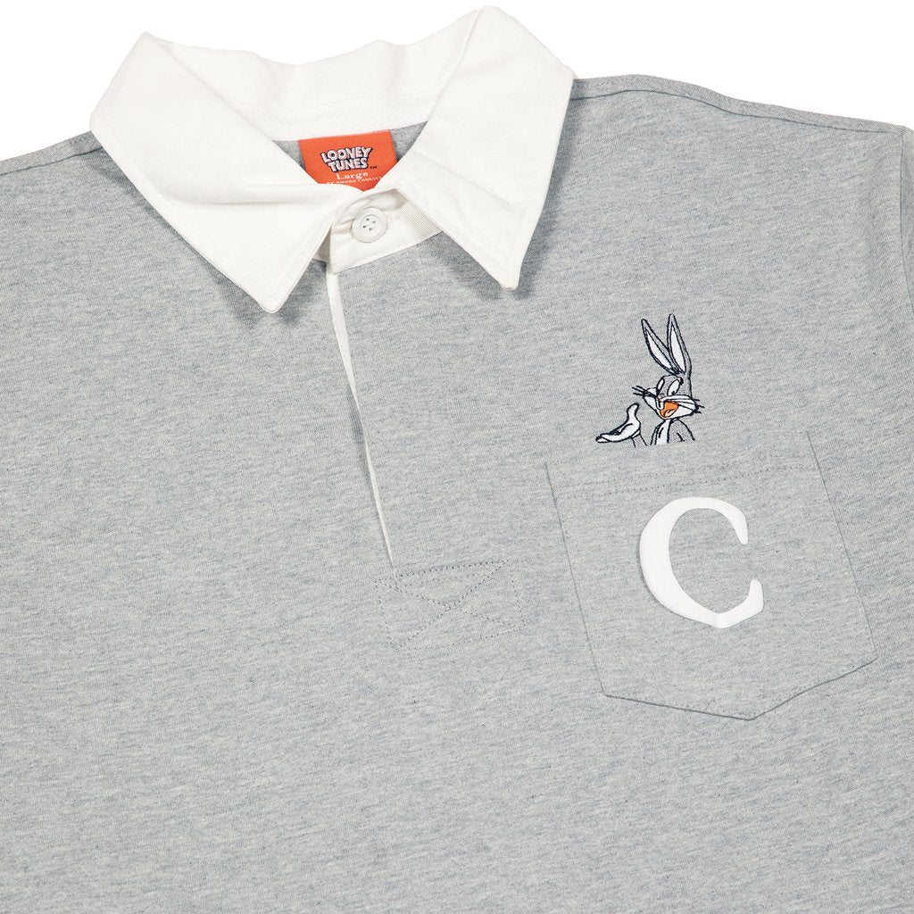 "CARROTS X LOONEY TUNES ""BUGS C"" RUGBY - HEATHER"