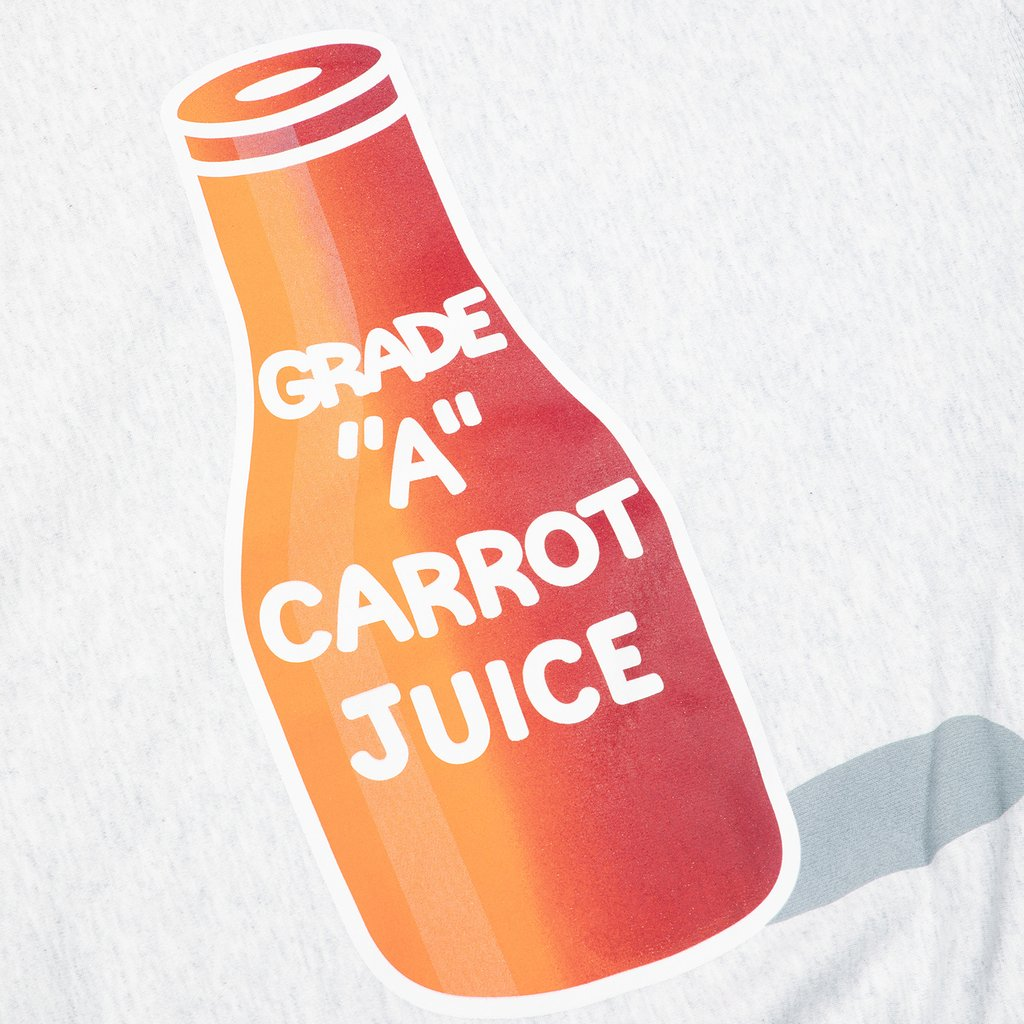 CARROT JUICE HOODIE - HEATHER