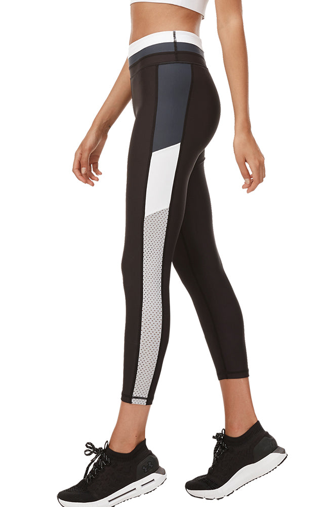 Black Stone Legging - Black/Navy/White/Grey