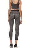 Black Jagger 7/8 Legging - Khaki/Black