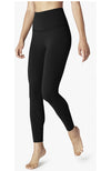 Caught In The Midi High Waisted Legging - Jet Black