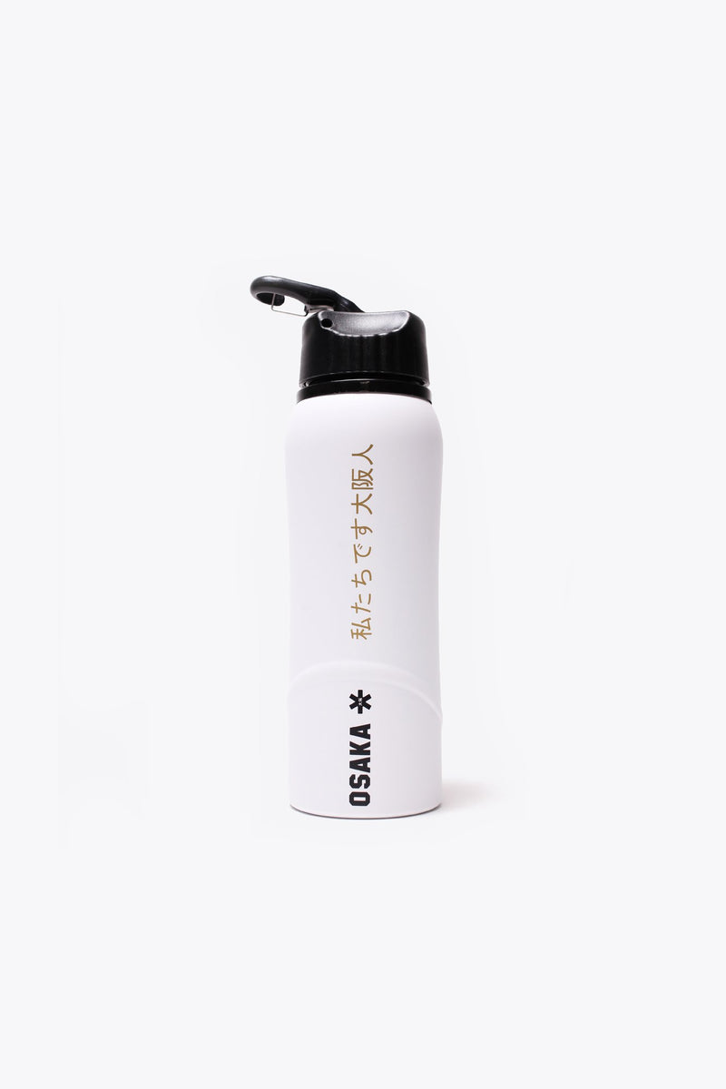 Kuro Aluminium Waterbottle 2.0 - White / Black