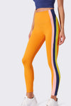 Jaden High Waist Techflex 7/8 - Nectarine Multi