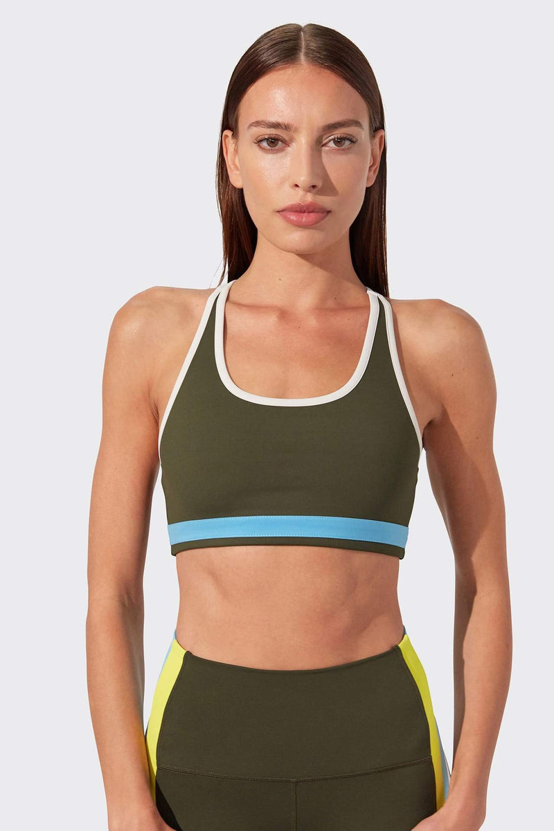 Devan Techflex Bra - Army Multi