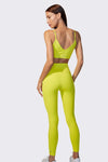 Ava 7/8 High Waist Legging - Yellow