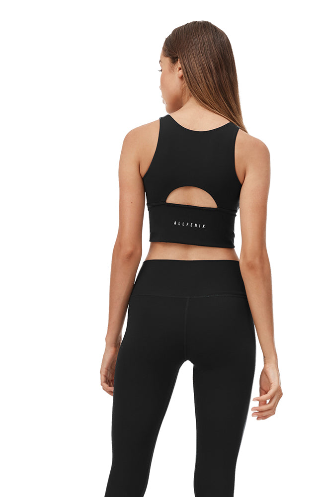 Madison Core Sports Bra - Black