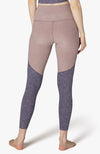 Off Duty High Waisted Long Legging - Deep Amethyst - Wild Wisteria