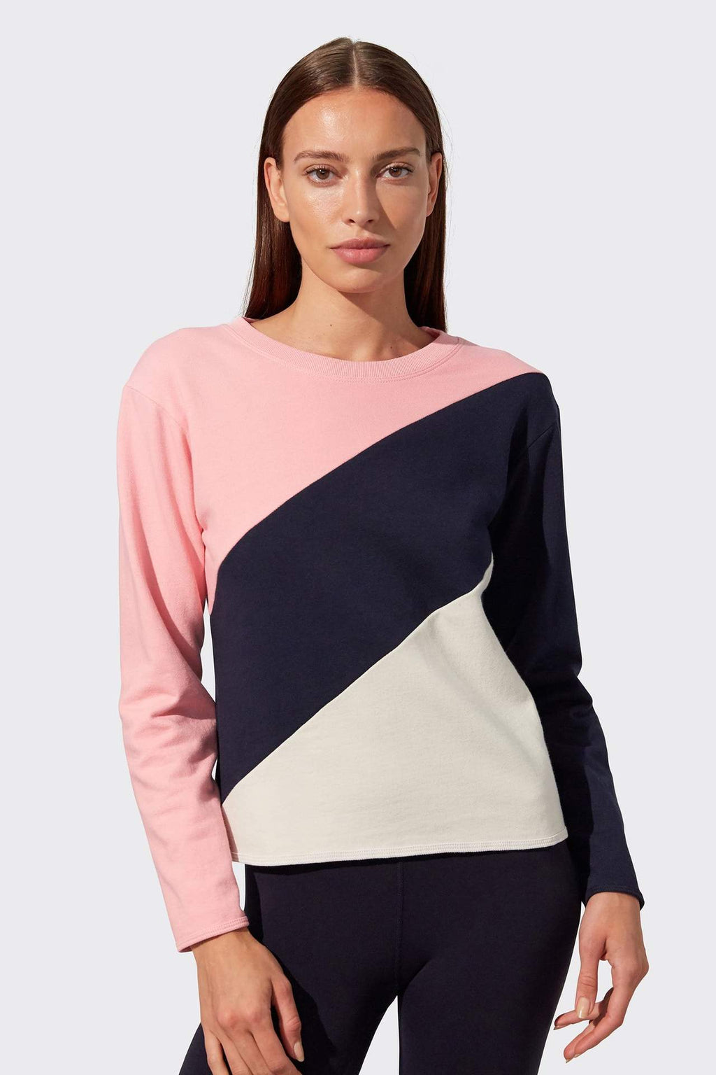Tamara French Terry Sweatshirt - Pink Multi