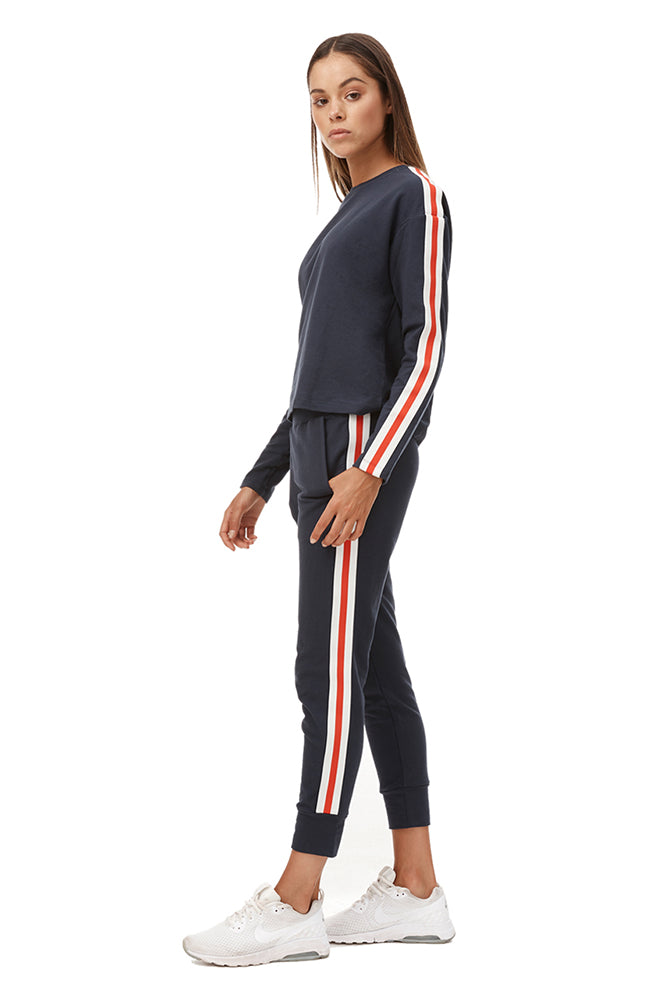 Tyra Sweat Pant - Navy