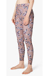 Olympus One More Stripe High Waisted Long Legging - Floral Blush