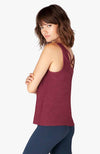 Light and lavish tank - Team Burgundy - Bold Burgundy