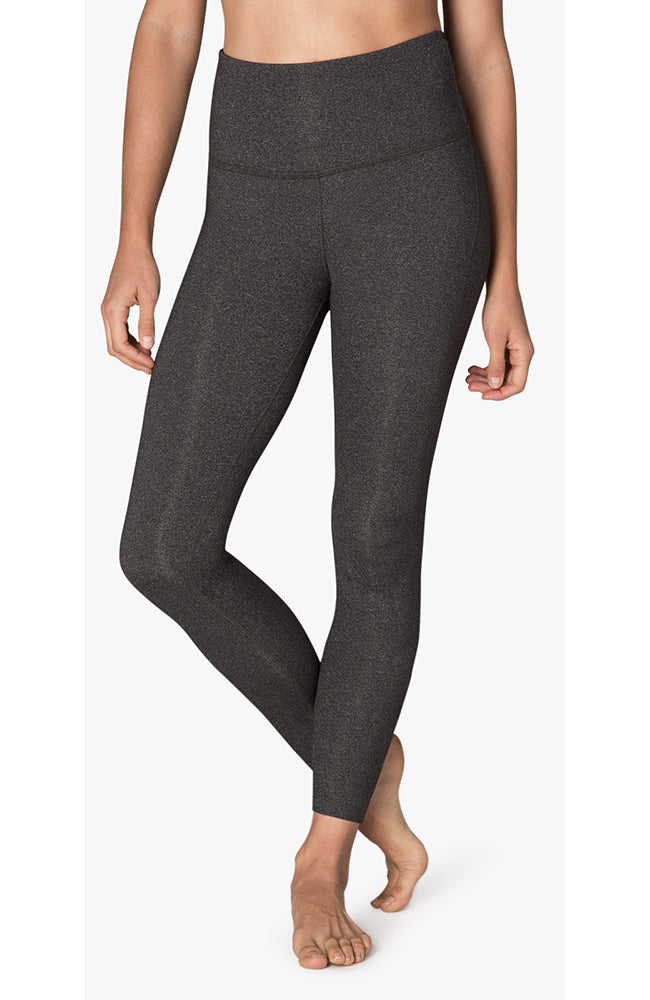 Caught In The Midi High Waisted Legging - Heather Gray
