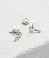 Mini Key Post Earrings