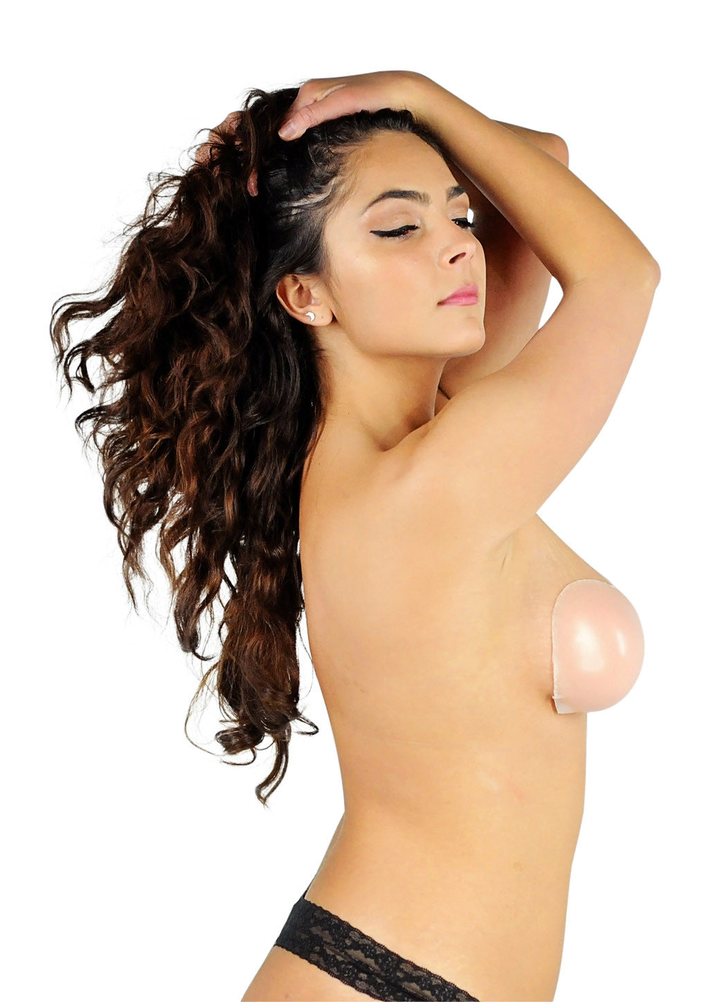 Silicone Sticky Bra - Nude for Curvy Ladies!