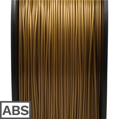 ABS filament 1kg 1.75mm (Golden)