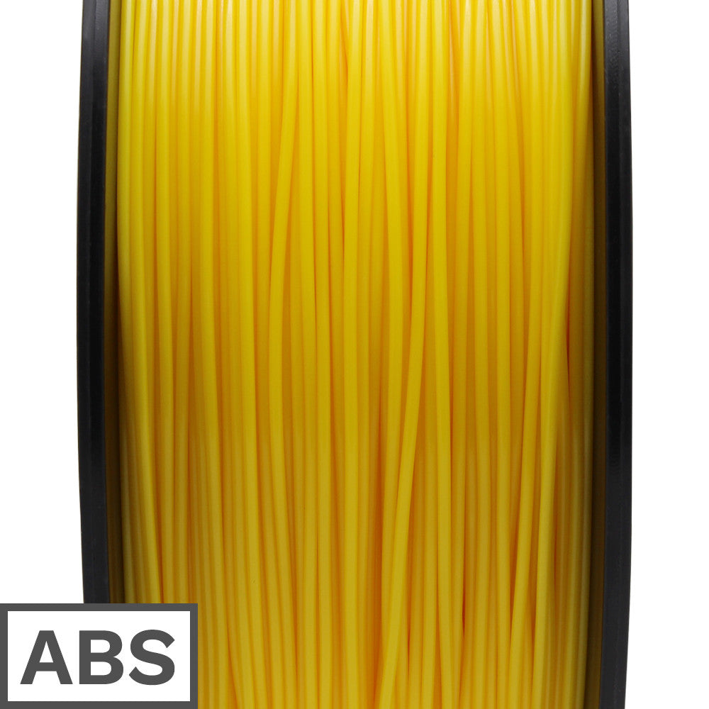 ABS filament 1kg 1.75mm (Yellow)