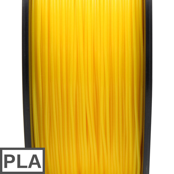 PLA filament 1kg 1.75mm (Yellow)
