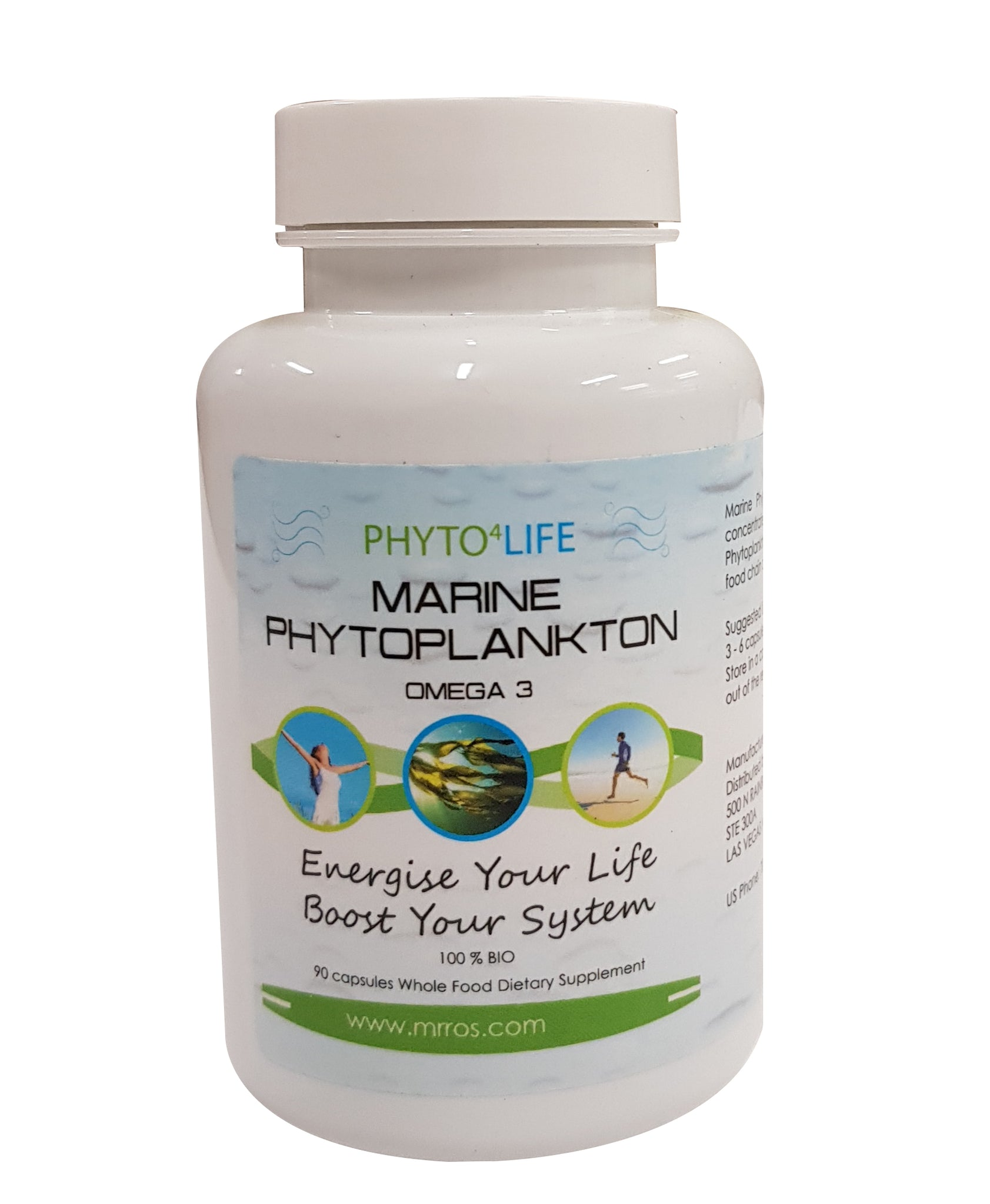Mr Ros Marine Phytoplankton-Vegan Omega 3- Vegan EPA-Essential Fatty Acids-All Potent Superfood - Mr Ros Natural Premium Superfoods