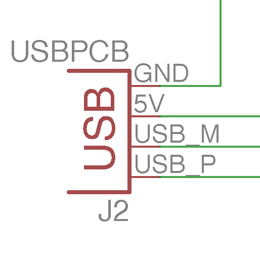 USB PCB Connector