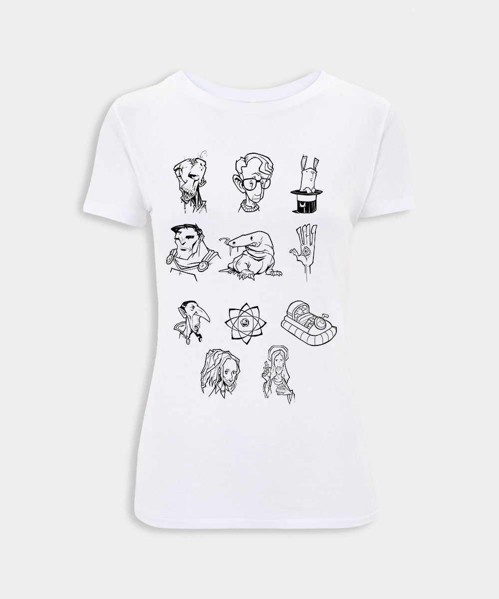 Woody Allen Ladies T-Shirt