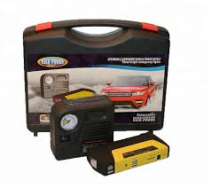 Vehicle Starter & Battery Pack with Air Compressor - Model BSP027