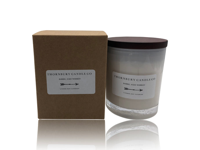 whisky candle unisex