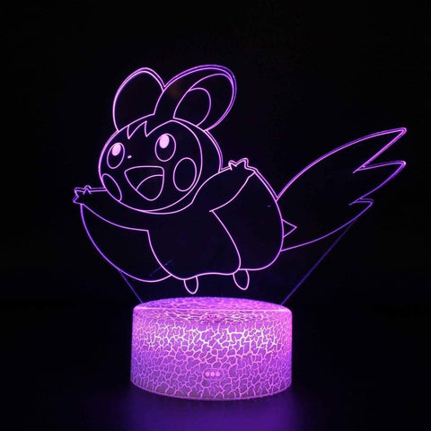 Emolga 3D Lamp - 7 colors - GoPokeShop