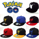 Valor/Instinct/Mystic Pokemon Team Hip Hop Snapback - GoPokeShop