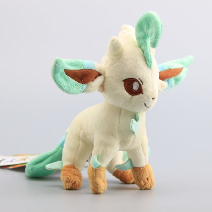 Leafeon Pokémon Plush - 7.8in/20cm - GoPokeShop