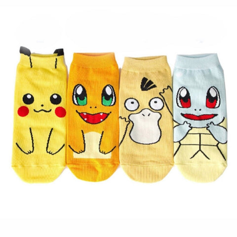 Short Pokemon Socks - GoPokeShop