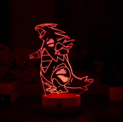 Tyranitar 3D Lamp - 7 colors - GoPokeShop