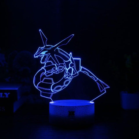 Rayquaza 3D Lamp - 7 colors - GoPokeShop