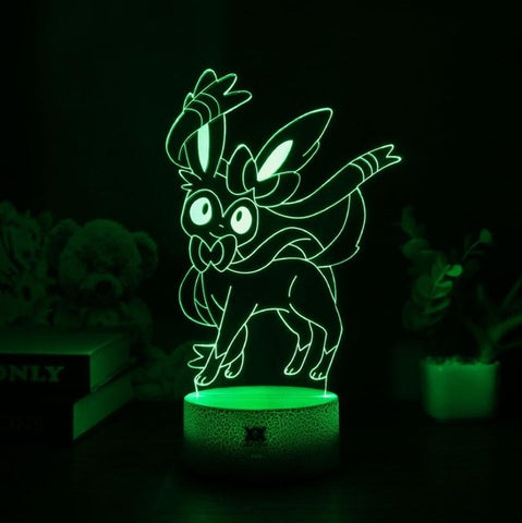 Sylveon 3D Lamp - 7 colors - GoPokeShop