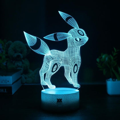 Umbreon 3D Lamp - 7 colors - GoPokeShop