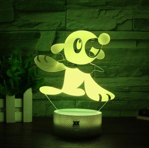 Popplio 3D Lamp - 7 colors - GoPokeShop