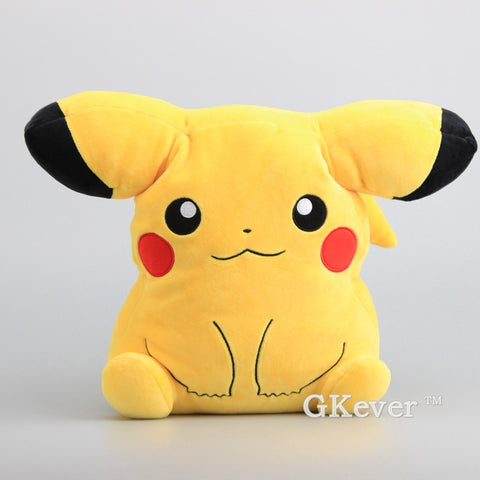 "Pokémon Plush - Pikachu Soft Pillow 12"" 30 cm - GoPokeShop"