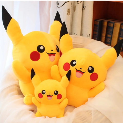 Happy Pikachu Pokémon Plush - 20/30/45CM - GoPokeShop
