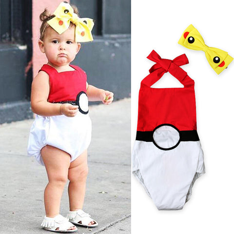 Baby Pokeball Costume 3-24 Months - GoPokeShop
