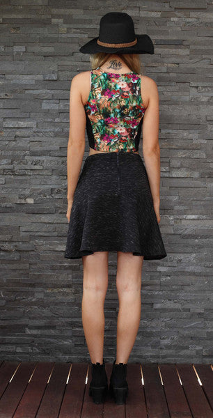 Flirty By Nature Black Skirt