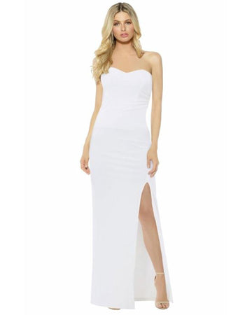 Strapless Angelic Evening Dress