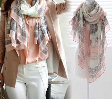 Spring Summer Light Scarf