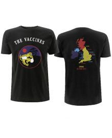The Vaccines (Handsome Panther Spring 2015 Tour) Black T-Shirt