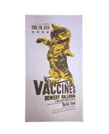 The Vaccines (Bowery Ballroom - New York) Poster
