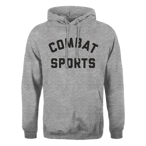 Combat Sports Text Hoody