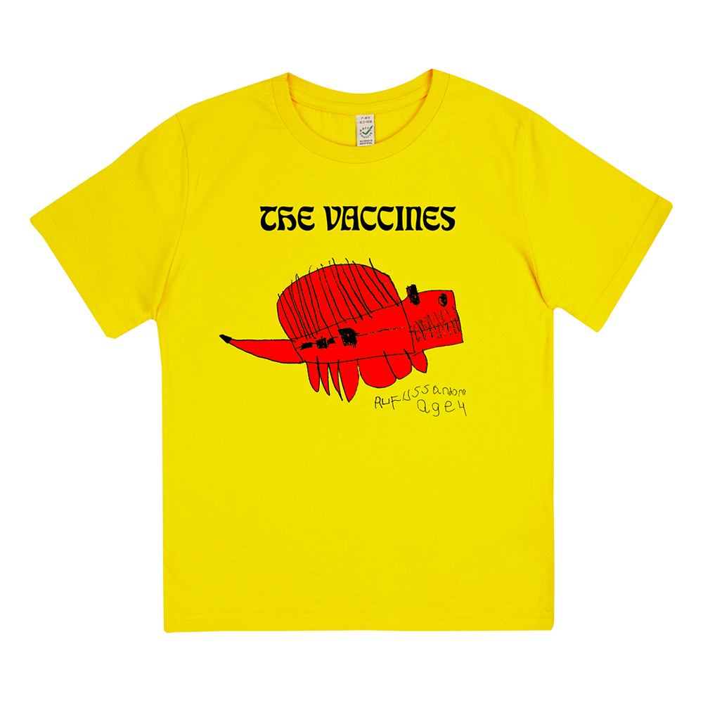 Ruffosauros Yellow Youth T-Shirt
