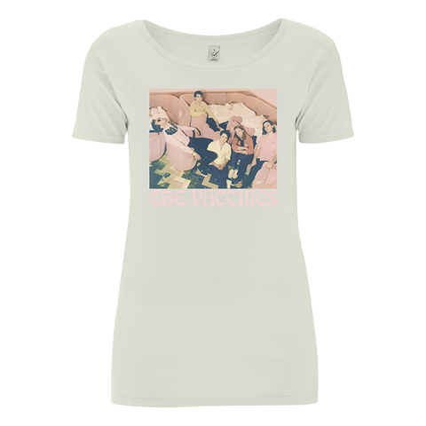The Vaccines Photo Ladies Natural T-Shirt