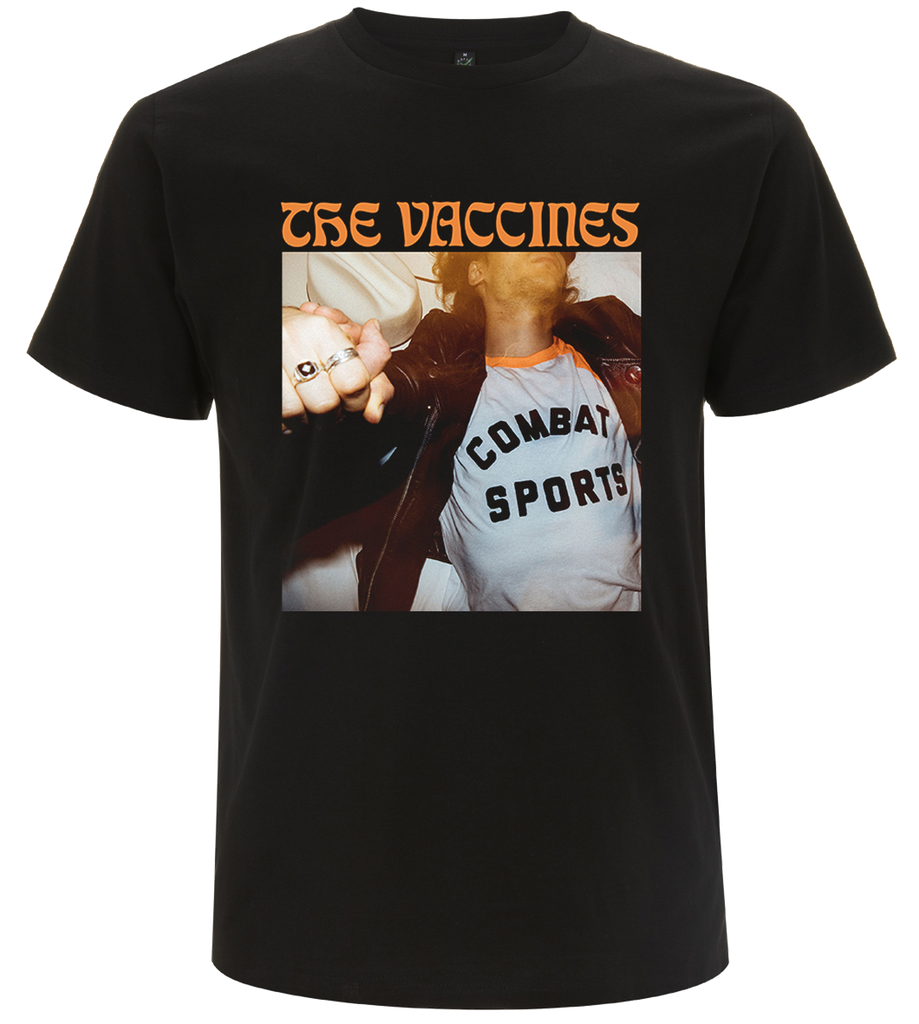 The Vaccines (Combat Sports) 2018 Spring Tour T-Shirt