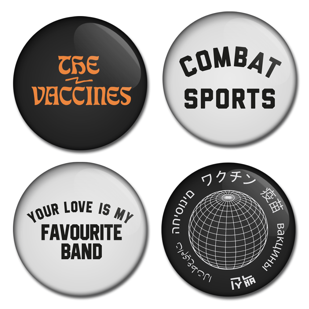 Combat Sports Badge Set