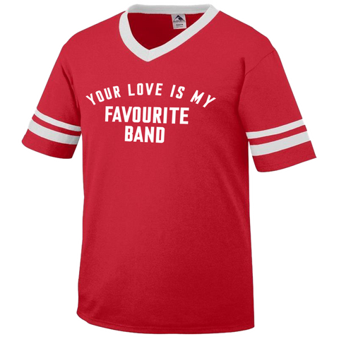 The Vaccines (Your Love Is My Favourite Band) Ringer T-Shirt